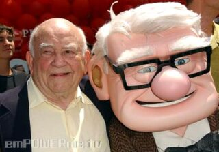 Special Guest Ed Asner Stops By the Studio!