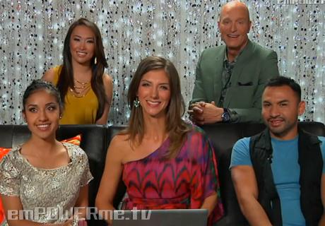 Dulce Candy, Holly Ann Aeree, Gilbert Muniz Post Show Chat