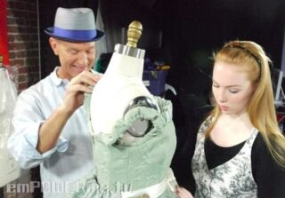 Molly Quinn on Secrets of the Red Carpet