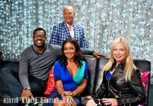 Traci Lords and Castle's Tamala Jones Shine on Secrets of the Red Carpet Photo