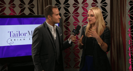 Elle Leary on Fall Fashion Trends with Host Brian Rodda of Tailor Made