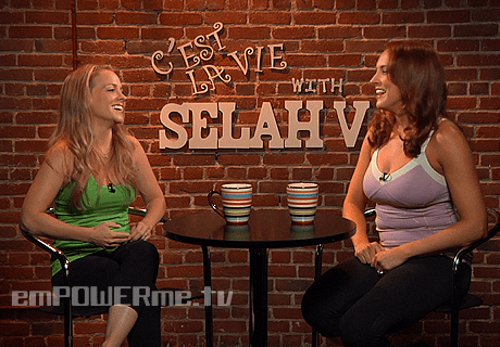 Kelly Stables on C'est la Vie with Selah V
