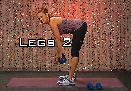 LONG LEAN LEGS