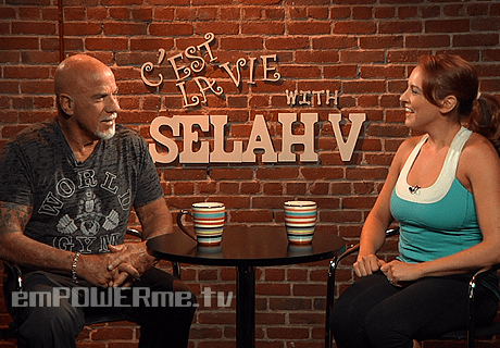 Bodybuilder and Pro-Wrestler Ric Drasin on C'est la Vie with Selah V