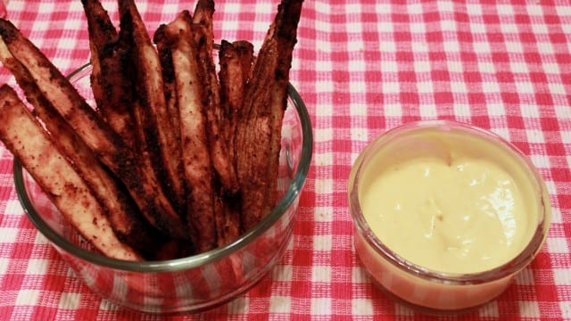 Christine Lakin's Healthy French Fries and Mayonaisse
