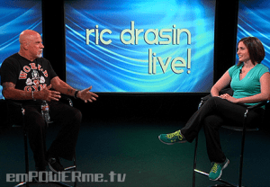 Personal Trainer and Nutrition Coach Erika Volk Ric Drasin Live! Photo