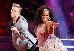 Amber Riley & Dancing with the Stars Style on Tailor Made with Brian Rodda Photo