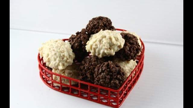 White and Dark Chocolate Delights!