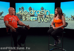 Fitness Instructor and Actress Selah Victor on Ric Drasin Live! Photo