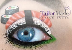 Make-Up Artist Pal Teleg on Tailor Made with Brian Rodda Photo