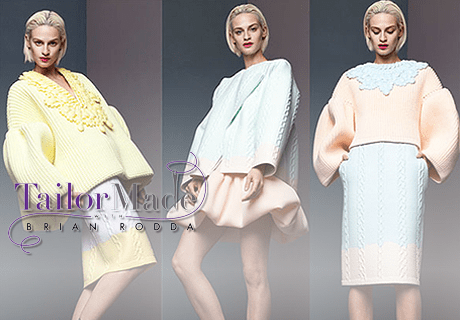 Peter Pillotto Collab with Target, Knitwear, Bows on Tailor Made with Brian Rodda