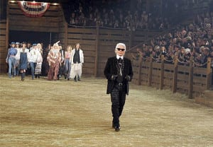 Carl Lagerfeld Runway on Tailor Made with Brian Rodda Photo