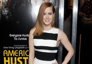 Amy Adams Sheer Dress on Tailor Made with Brian Rodda