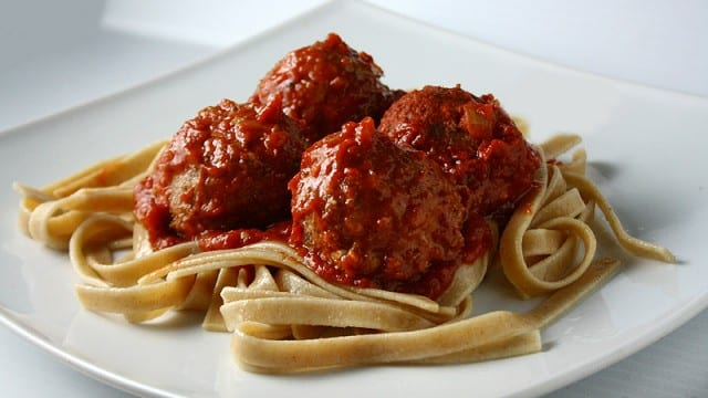 Pasta w/ Turkey Meatballs – Nourishing Recipes