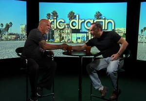 Actor Peter Onorati on Ric Drasin Live Photo