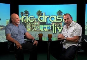 Longtime Bodybuilding Champion Doug Brignole on Ric Drasin Live Photo