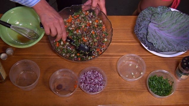 Lentil Vegetable Salad – Nourishing Recipes