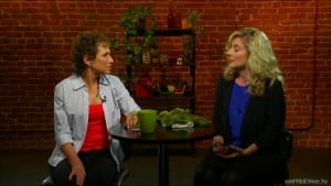 NWF Director Beth Pratt discusses the Challenges of Life on the Road on Food Exposed! Photo