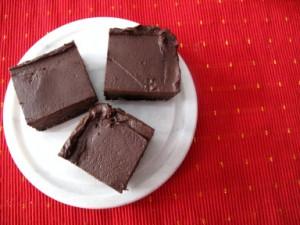 VeggieNook.com's Chocolate Ganache Brownies