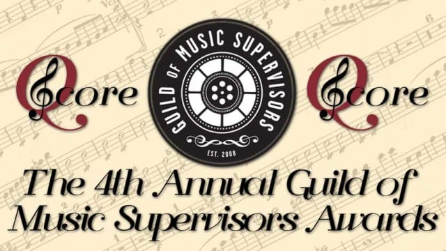 Q Score Live from the 4th Annual Guild of Music Supervisors Awards