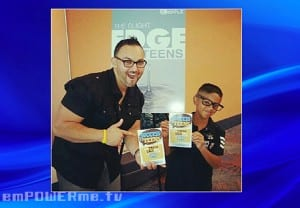 Youth Motivational Speaker Victor Palomares on Ric Drasin Live Photo