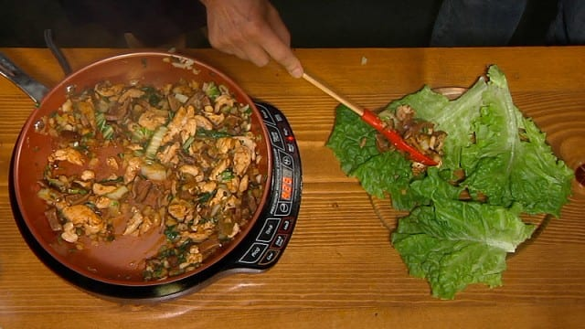 Stir Fried Turkey in Lettuce Cups – Food Exposed
