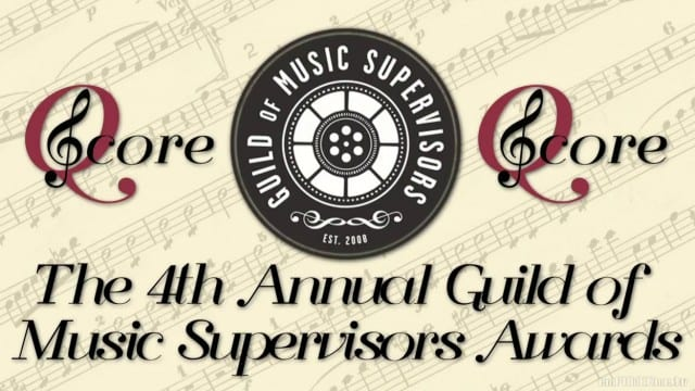 Q Score Live Post 4th Annual Guild of Music Supervisors Awards