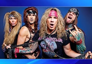 Steel Panther's Michael Starr on Ric Drasin Live Photo