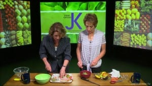Kiwi, Mango & Avocado Fruit Scoops – NORWAY – Food Exposed: International Food & Tools Series Photo