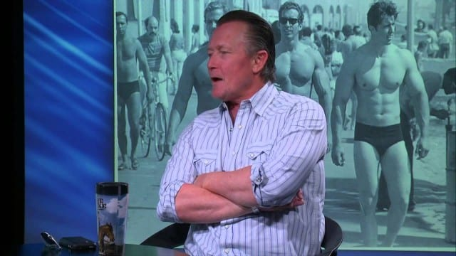 True Blood's Robert Patrick kicks it with Ric Drasin
