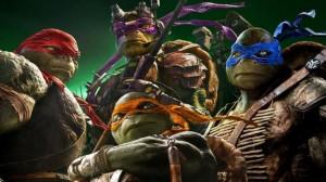 Teenage Mutant Ninja Turtles with Paramount Music Chief Randy Spendlove Photo